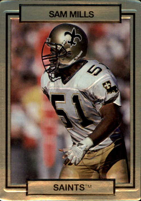1990 Action Packed #179 Sam Mills