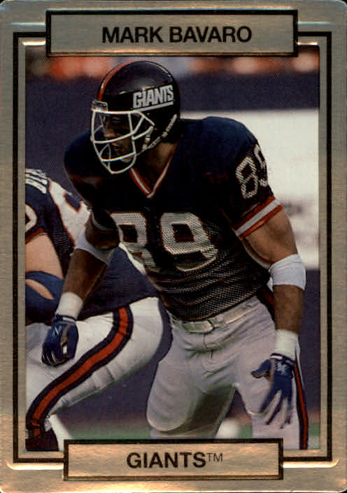 1990 Action Packed #183 Mark Bavaro
