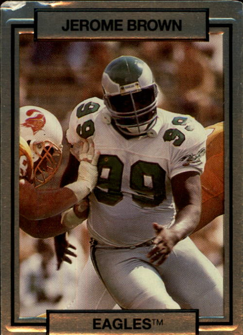1990 Action Packed #202 Jerome Brown