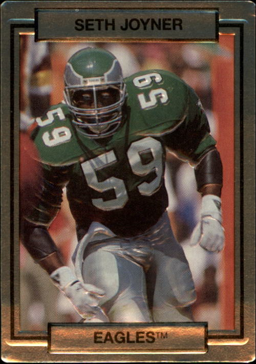 1990 Action Packed #207 Seth Joyner