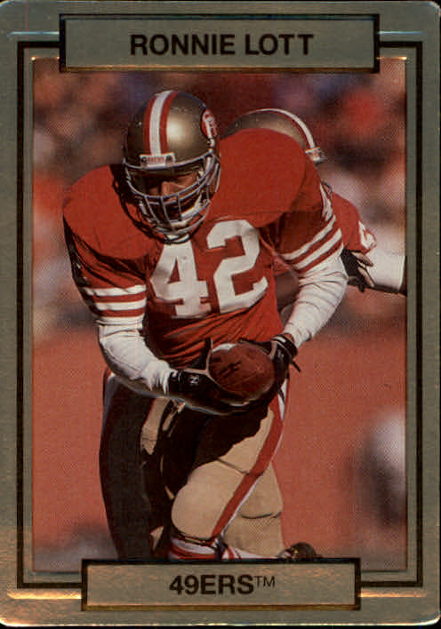 1990 Action Packed #244 Ronnie Lott