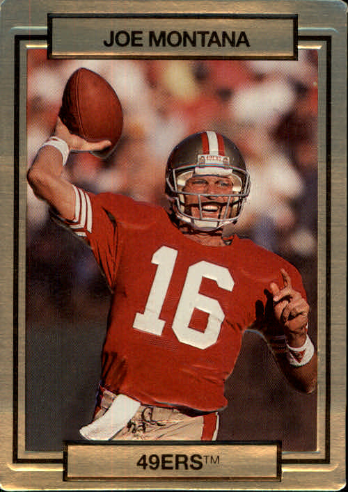 1990 Action Packed #246 Joe Montana