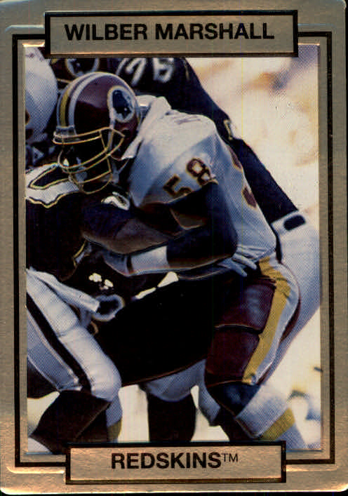 1990 Action Packed #275 Wilber Marshall