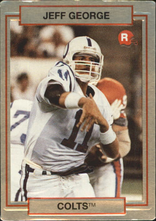1990 Action Packed Rookie Update #1 Jeff George RC