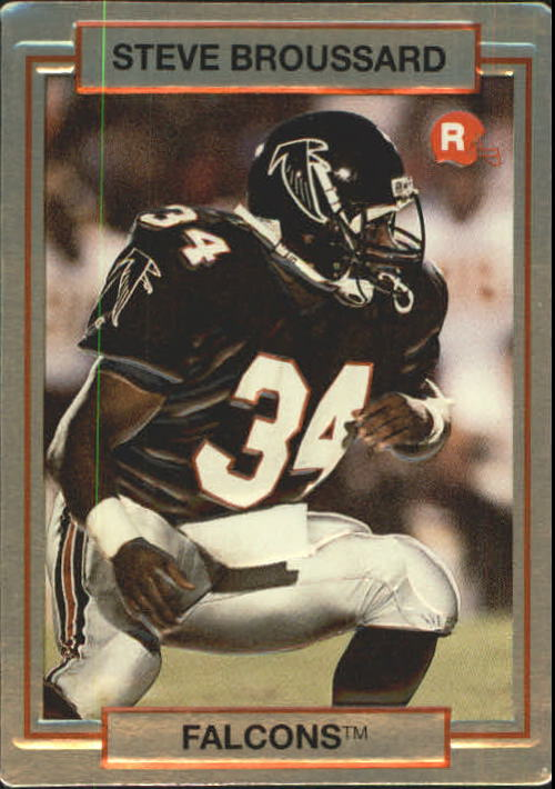 1990 Action Packed Rookie Update #6 Steve Broussard RC