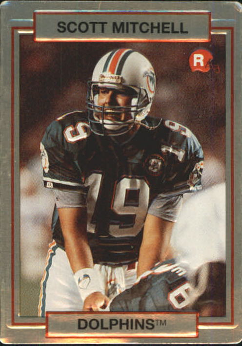 1990 Action Packed Rookie Update #12 Scott Mitchell RC