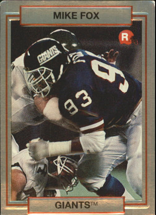 1990 Action Packed Rookie Update #13 Mike Fox RC