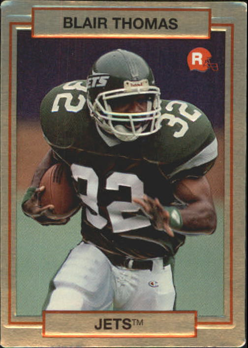 1990 Action Packed Rookie Update #15 Blair Thomas RC