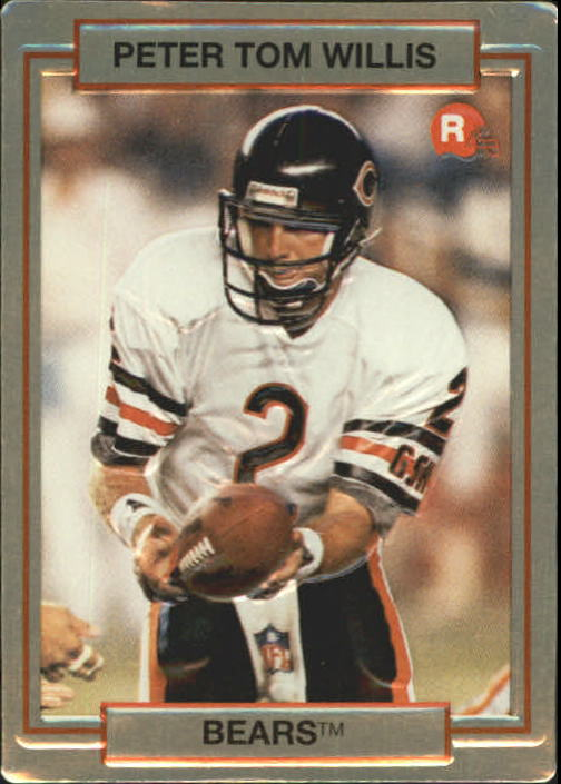 1990 Action Packed Rookie Update #17 Peter Tom Willis RC