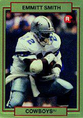 1990 Action Packed Rookie Update #34 Emmitt Smith RC