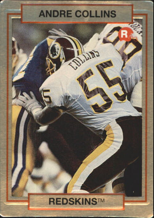 1990 Action Packed Rookie Update #35 Andre Collins UER RC