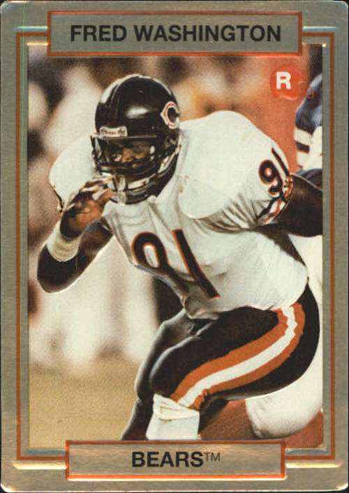 1990 Action Packed Rookie Update #42 Fred Washington RC
