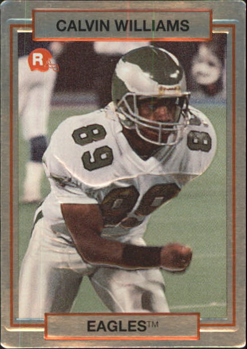1990 Action Packed Rookie Update #50 Calvin Williams RC