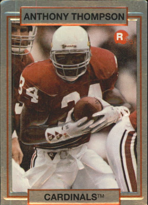 1990 Action Packed Rookie Update #51 Anthony Thompson RC