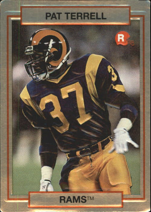 1990 Action Packed Rookie Update #63 Pat Terrell RC