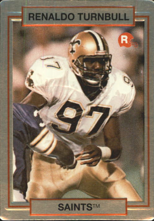 1990 Action Packed Rookie Update #64 Renaldo Turnbull RC