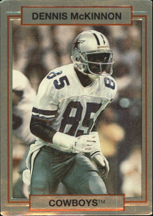 1990 Action Packed Rookie Update #78 Dennis McKinnon