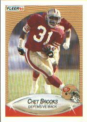 1990 Fleer #2 Chet Brooks