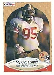 1990 Fleer #3 Michael Carter