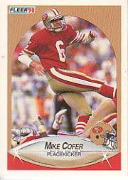 1990 Fleer #4 Mike Cofer UER