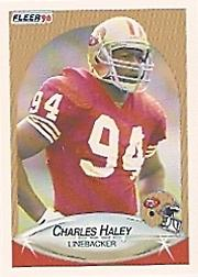 1990 Fleer #7 Charles Haley UER