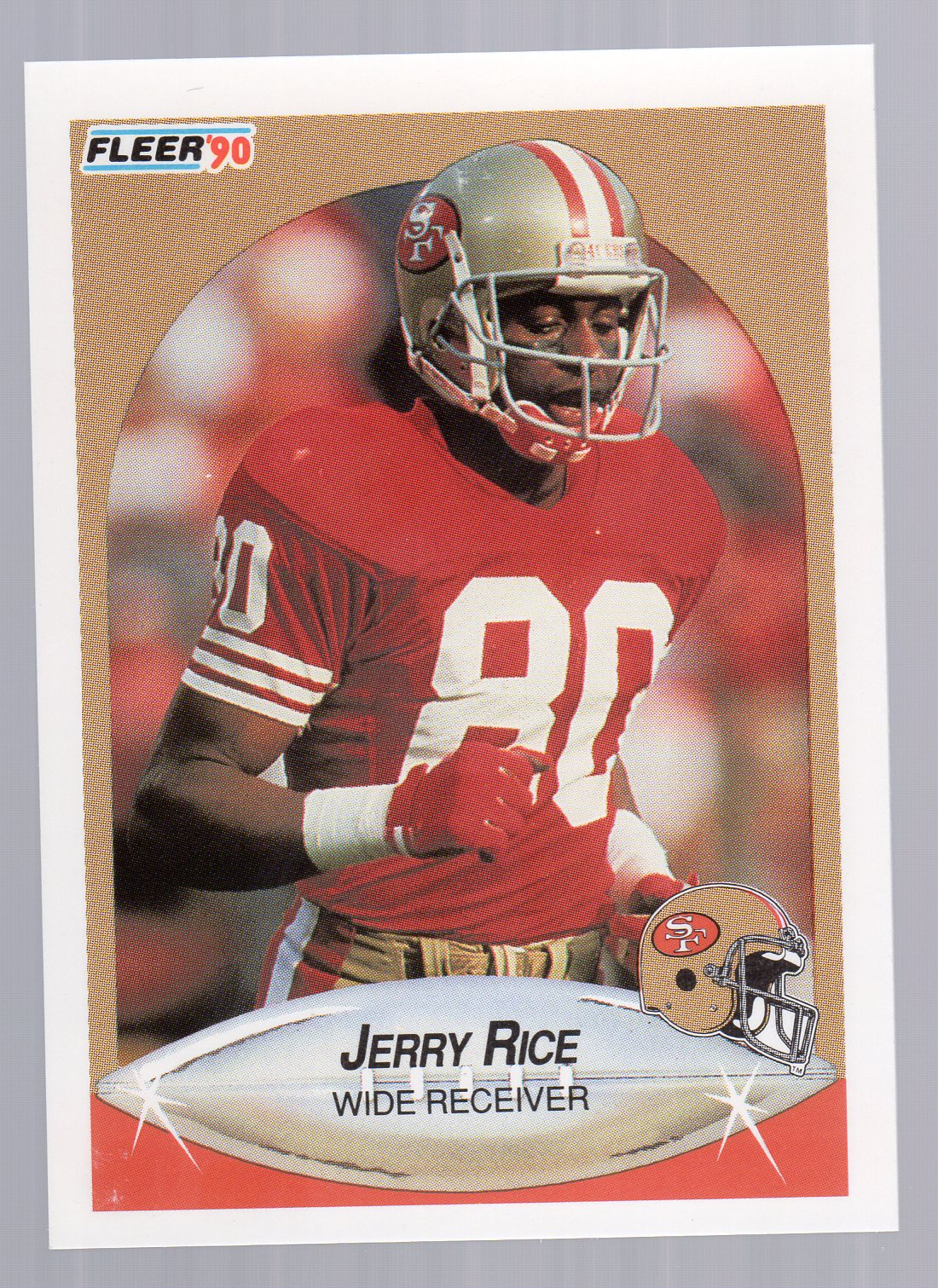 1990 Fleer #13 Jerry Rice