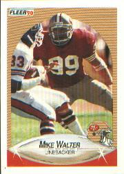 1990 Fleer #16 Michael Walter