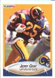 1990 Fleer #37 Jerry Gray