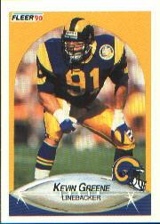 1990 Fleer #38 Kevin Greene