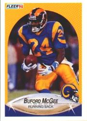1990 Fleer #42 Buford McGee RC