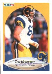 1990 Fleer #43 Tom Newberry