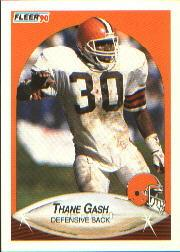 1990 Fleer #49 Thane Gash RC