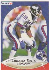 1990 Fleer #77 Lawrence Taylor