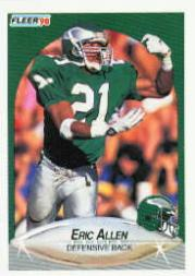 1990 Fleer #78 Eric Allen