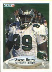 1990 Fleer #79 Jerome Brown