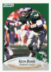 1990 Fleer #80 Keith Byars