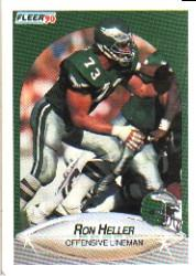 1990 Fleer #84 Ron Heller COR RC
