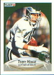 1990 Fleer #85 Terry Hoage RC
