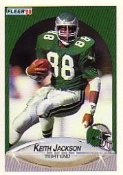 1990 Fleer #86 Keith Jackson
