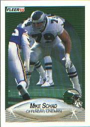 1990 Fleer #89 Mike Schad