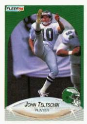 1990 Fleer #91 John Teltschik