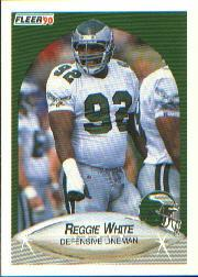 1990 Fleer #93 Reggie White