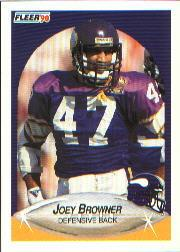 1990 Fleer #95 Joey Browner
