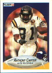 1990 Fleer #96 Anthony Carter