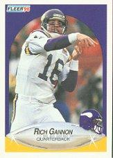 1990 Fleer #99 Rich Gannon RC