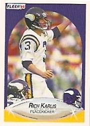 1990 Fleer #102 Rich Karlis