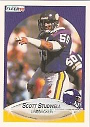 1990 Fleer #106 Scott Studwell