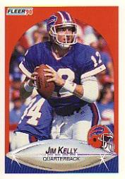 1990 Fleer #113 Jim Kelly front image