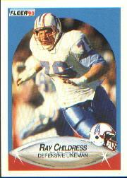 1990 Fleer #126 Ray Childress