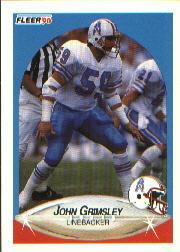 1990 Fleer #128 John Grimsley